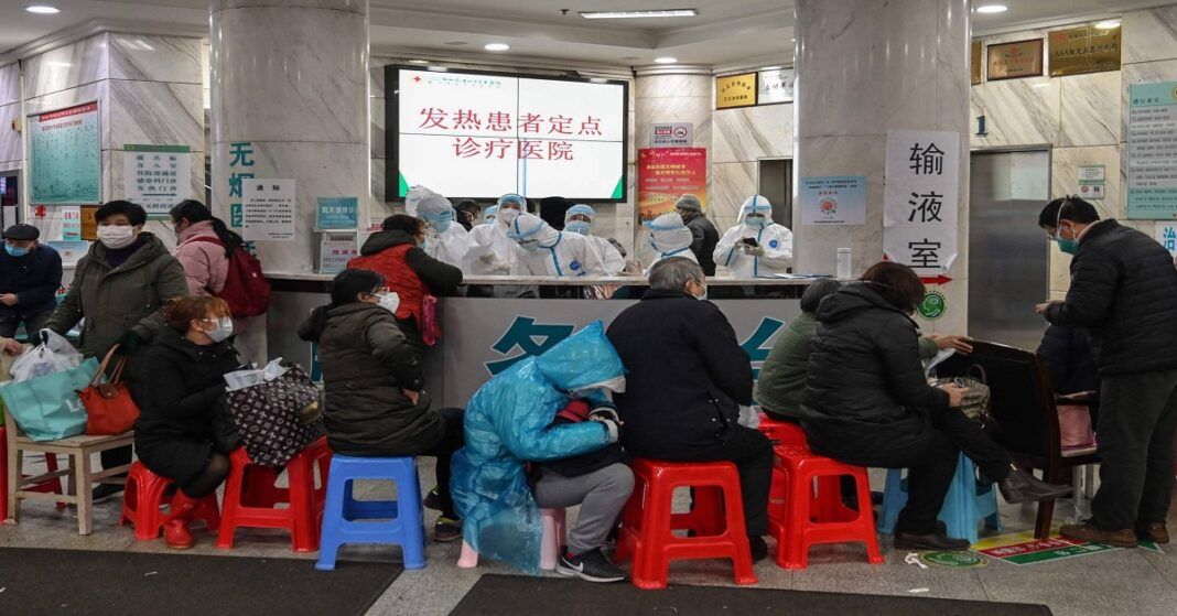 COVID-19 in China report: Almost 500,000 people in Wuhan have the virus.