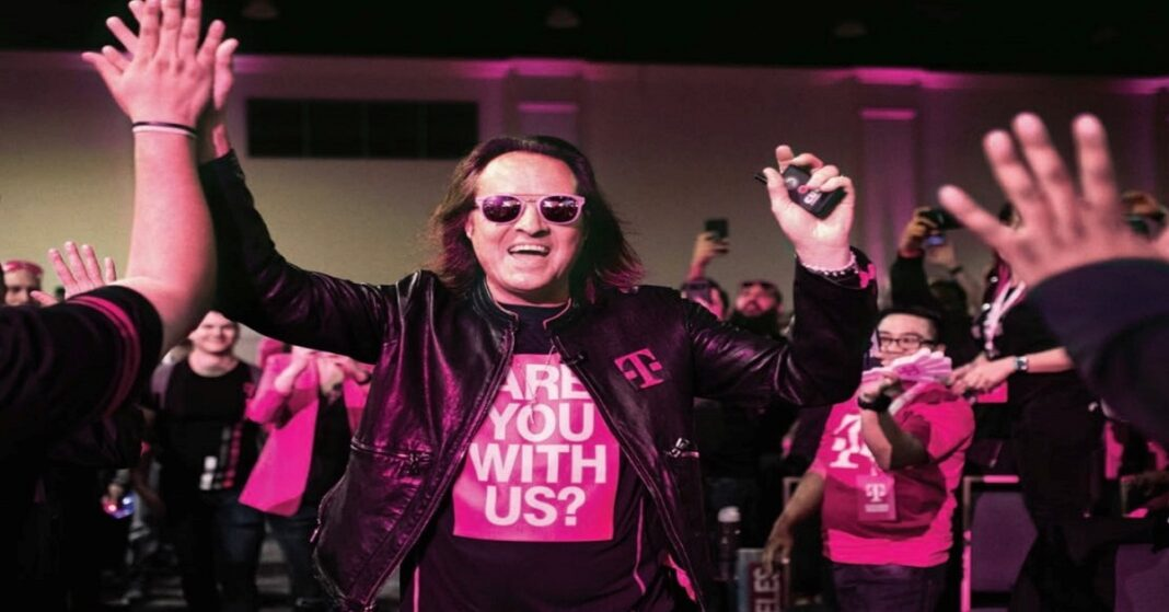 John Legere is considered being a non-applicant.