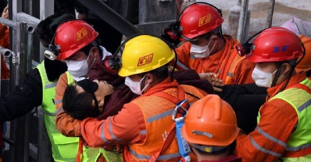Nine people have been found dead in the Chinese mine rescue in the Shandong province.