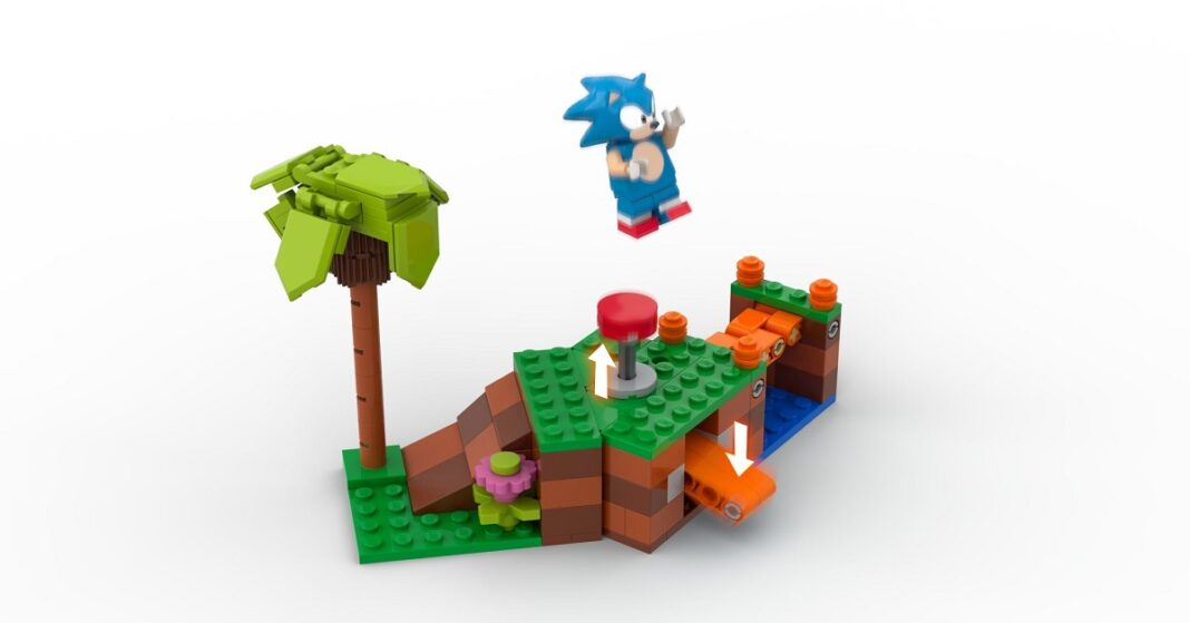 Lego is becoming even more creative; they are making a Sonic Mania styled Lego set that was inspired by a fan.